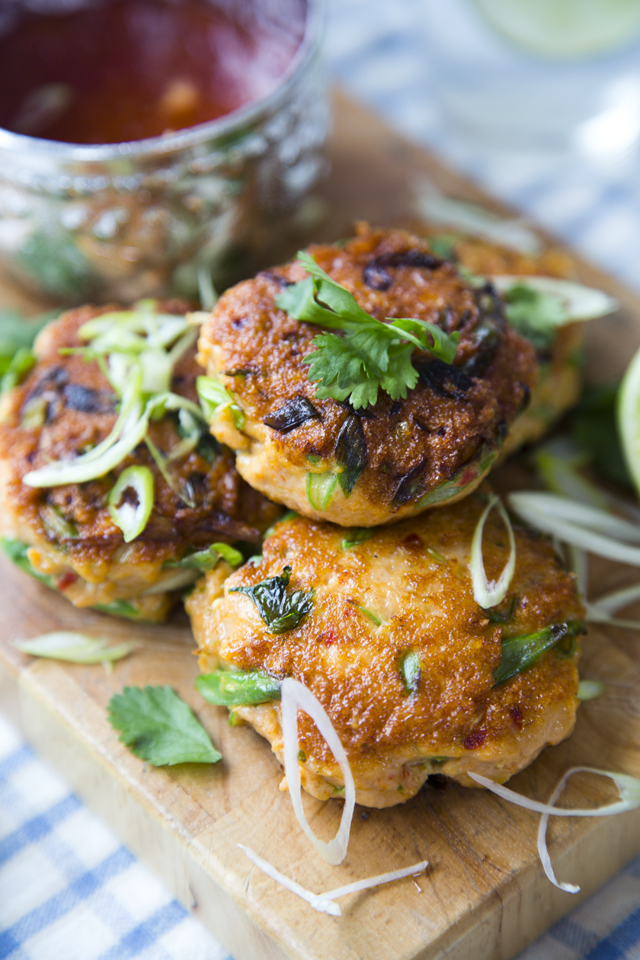 Thai Fish Cakes Donalskehan Com Serve With A Salad For Light Main