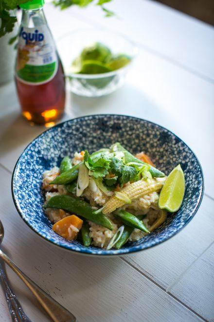 Thai Super Green Veggie Stew | DonalSkehan.com, Thai inspired supper in 15 minutes!
