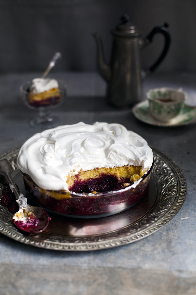 Blackberry Amber | DonalSkehan.com, If you like blackberries, this is the dessert for you!