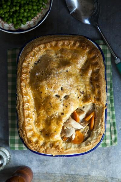 Braised Rabbit Pie
