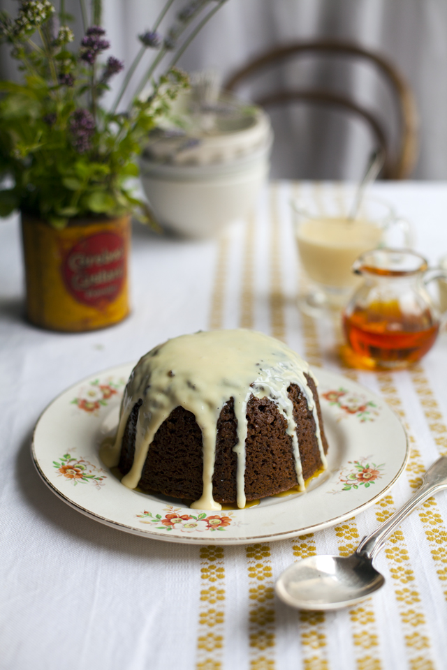 Treacle Sponge | DonalSkehan.com, Sweet, stodgey comfort food at it's best!