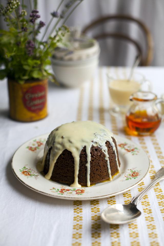 Treacle Sponge | DonalSkehan.com, Sweet, stodgey comfort food at it's best!