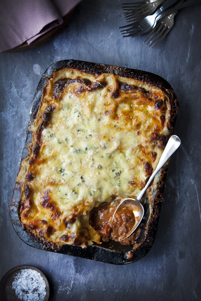Three-Cheese Lasagne | DonalSkehan.com, Comfort food at it's very best!