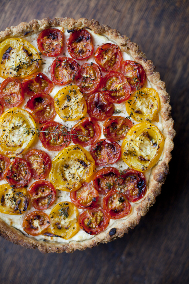 Tomato, Ricotta and Thyme Tart | Donal Skehan | EAT LIVE GO