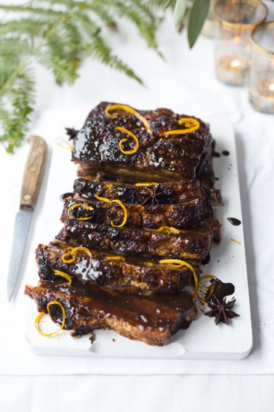 Dark & Sticky Glazed Pork Belly