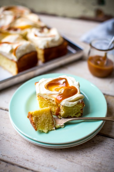 Tres Leches | DonalSkehan.com, A heavenly mix of 3 milks, poured over a luscious sweet cake.