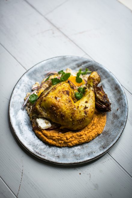 Turmeric & Ginger Spatchcocked Chicken | DonalSkehan.com, Spice up your traditional Sunday roast!