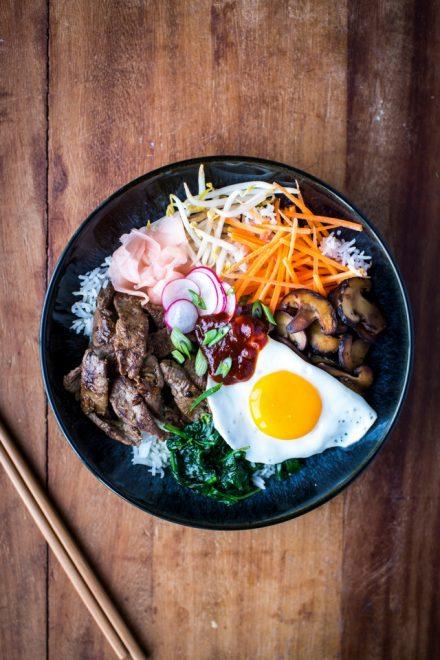 Bi Bim Bap | DonalSkehan.com, An explosion of texture and flavour!