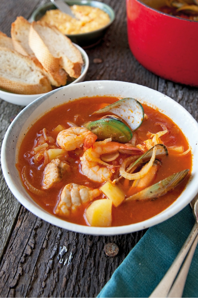 Fragrant Seafood Bowl   DonalSkehan.com, Delicious dinner for cold winter evenings!