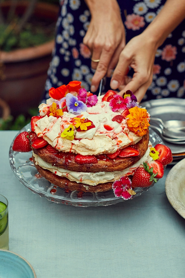 British Summertime Stack | DonalSkehan.com, A wonderful summer treat from Stirring Slowly by Georgina Hayden.