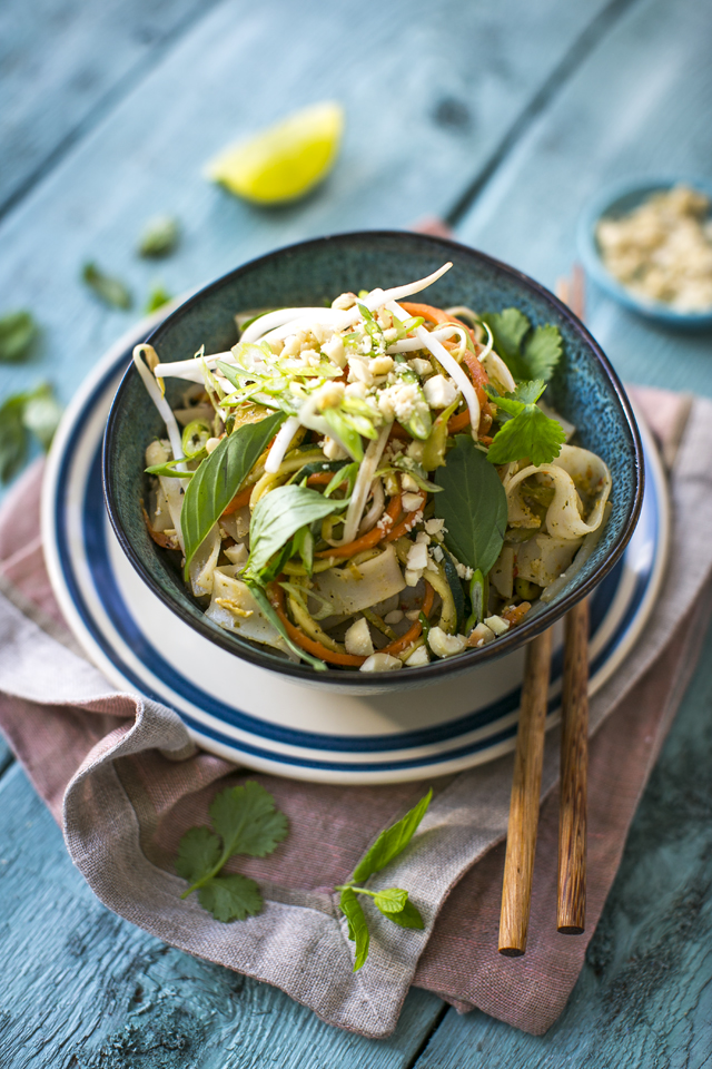 Vegetable Pad Thai | DonalSkehan.com, This humble noodle recipe is 100% one of my dessert island dishes...
