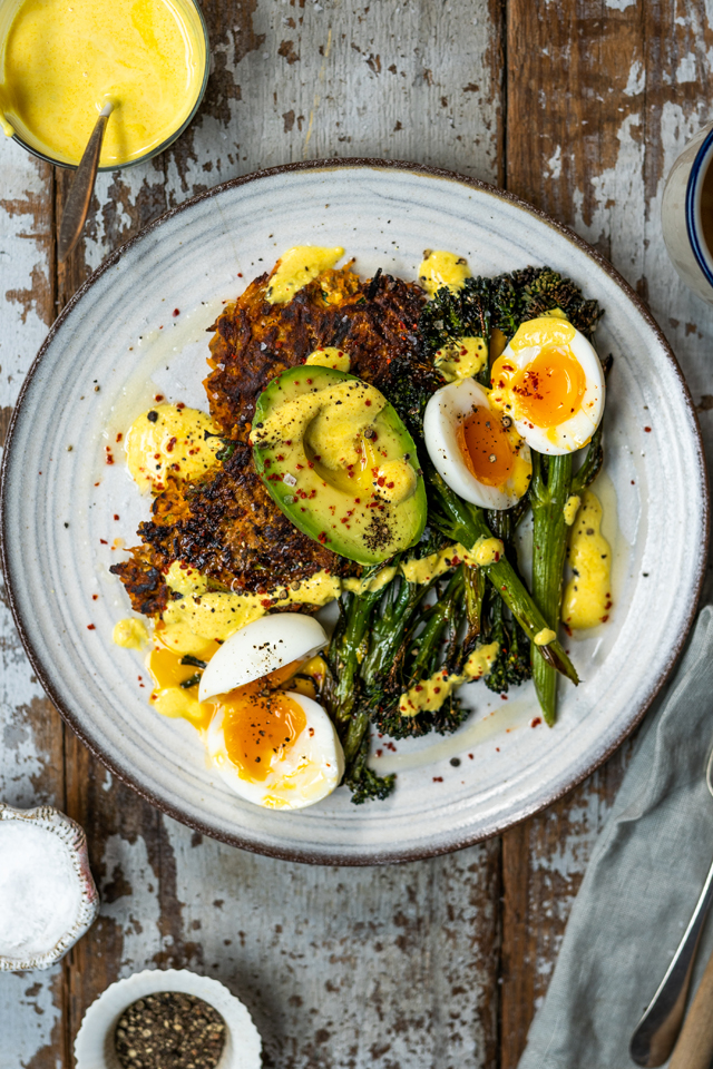 Healthy Breakfast Veggie Fritters | DonalSkehan.com, The perfect breakfast for just one or a full house!