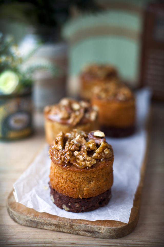 Pear, Vanilla and Smoke Cakes | DonalSkehan.com, This is a recipe for someone hoping to challenge their baking skills.