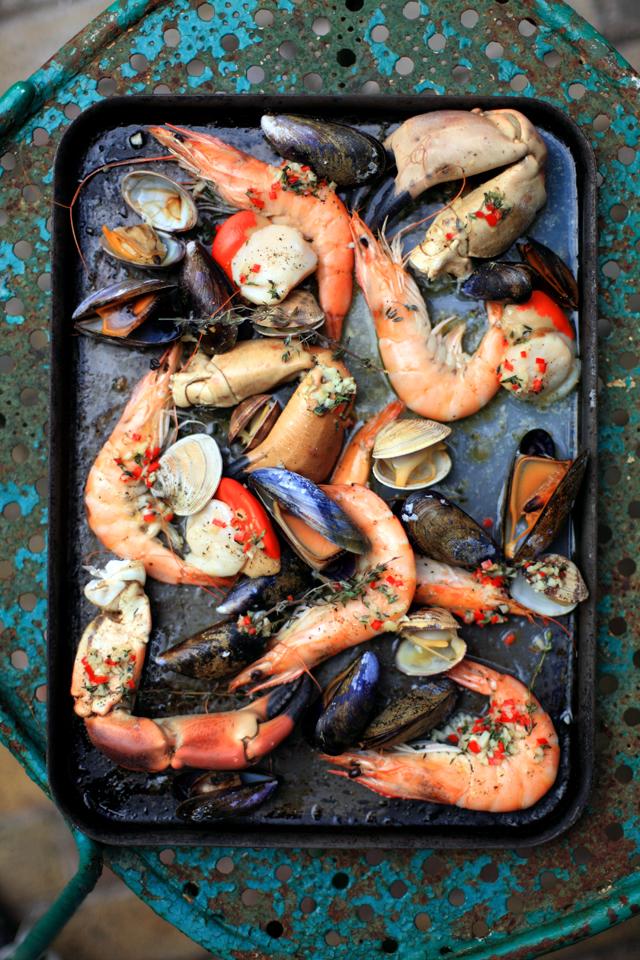 Oven Baked Shellfish Tray | DonalSkehan.com, Shellfish perfection!