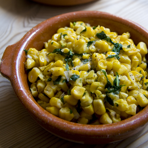 Basil and Sweetcorn | DonalSkehan.com, Perfect side salad for your summer BBQ!