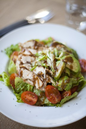 Spicy Chicken and Avocado Salad