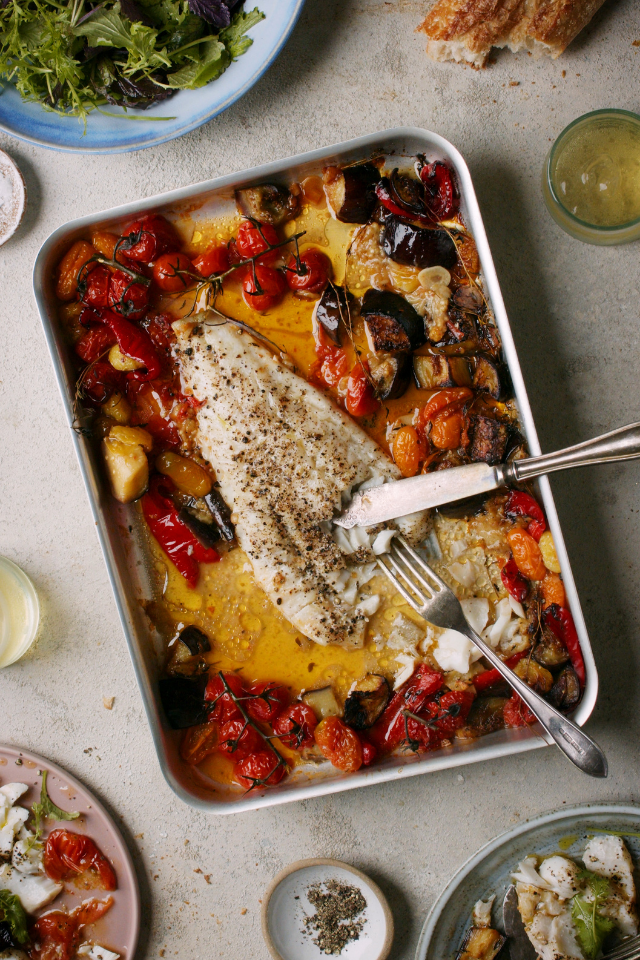 Cod & Tomato Bake for Two | DonalSkehan.com