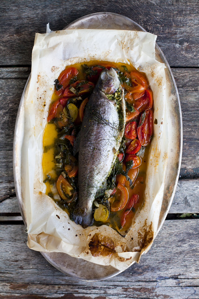 Trout en Papillote | DonalSkehan.com,  Packed full of omega 3 and essential fatty acids, this dish is sure to keep your heart and belly happy!