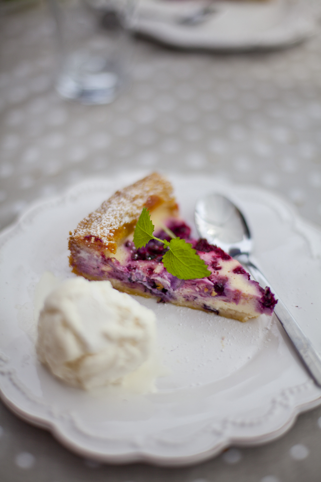 Raspberry Goddess Pie | DonalSkehan.com, Think cheesecake with a twist!