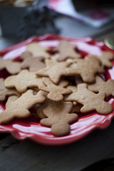 Crisp Gingerbread Biscuits