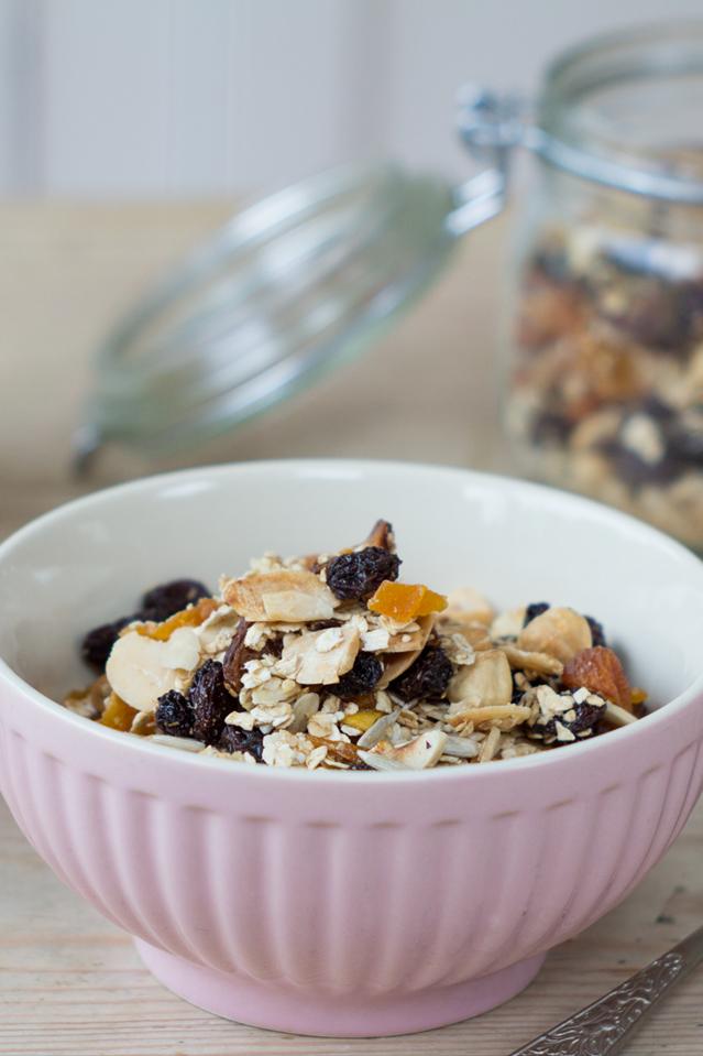 Breakfast Granola | DonalSkehan.com, Brilliant make ahead breakfast option!