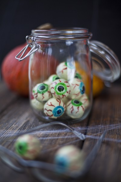 Creepy Chocolate Eyeballs