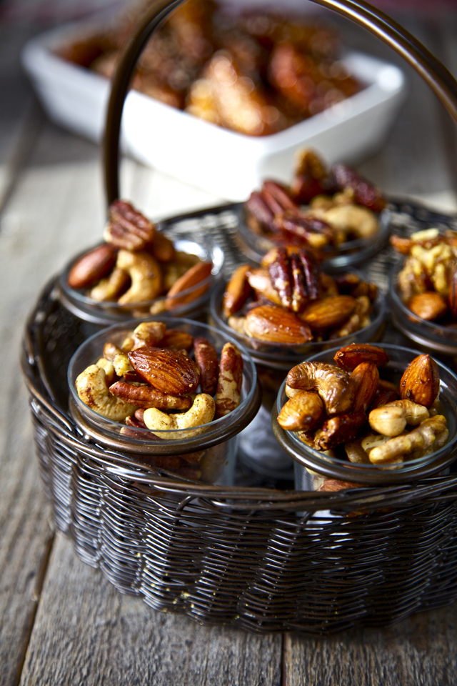 Indian Spiced and Roasted Nuts | DonalSkehan.com, Time for a  new healthy snack!