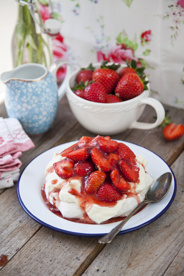 Mini Strawberry Pavlova Pies   Donal Skehan   EAT LIVE GO
