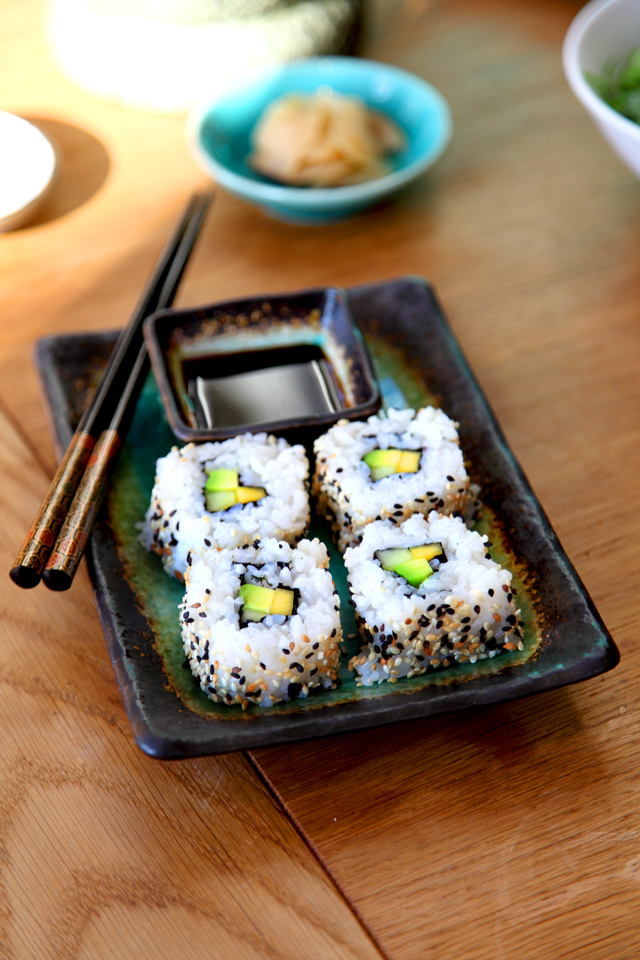ISO California roll | DonalSkehan.com, Sushi time!