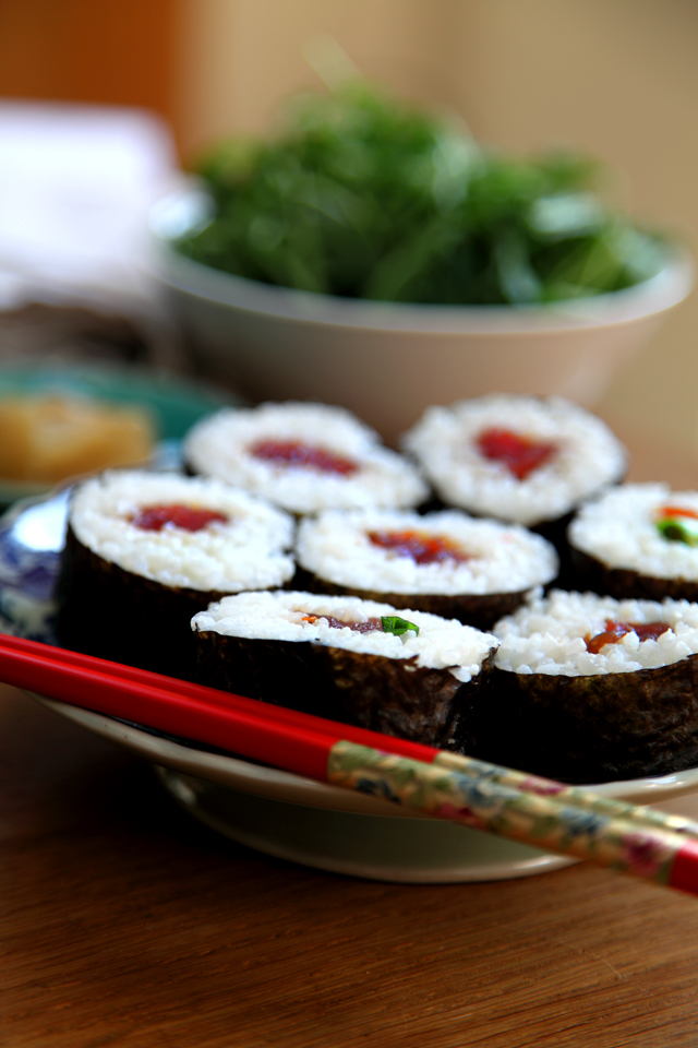 Sweet Chilli Chicken Maki | DonalSkehan.com, Sushi time!