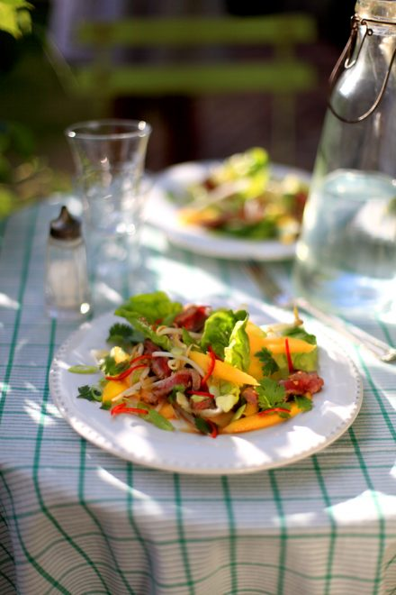 Private: Thai Beef and Mango Salad   DonalSkehan.com, A fresh & zingy summer salad with exciting Thai flavours!