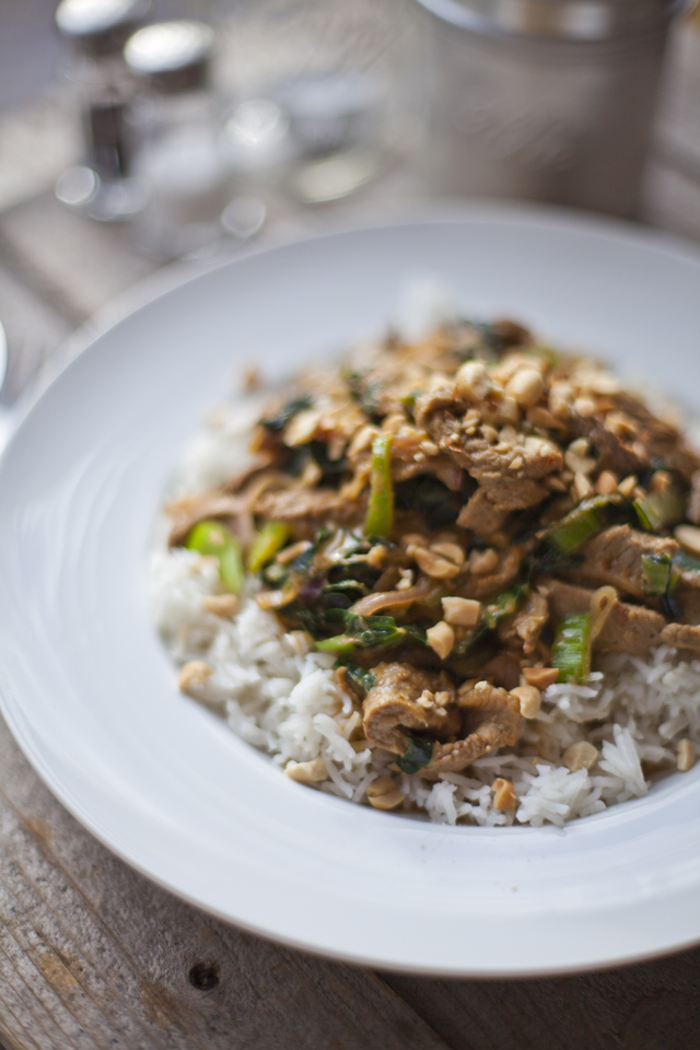 Nutty Thai Red Beef Curry | Donal Skehan | EAT LIVE GO
