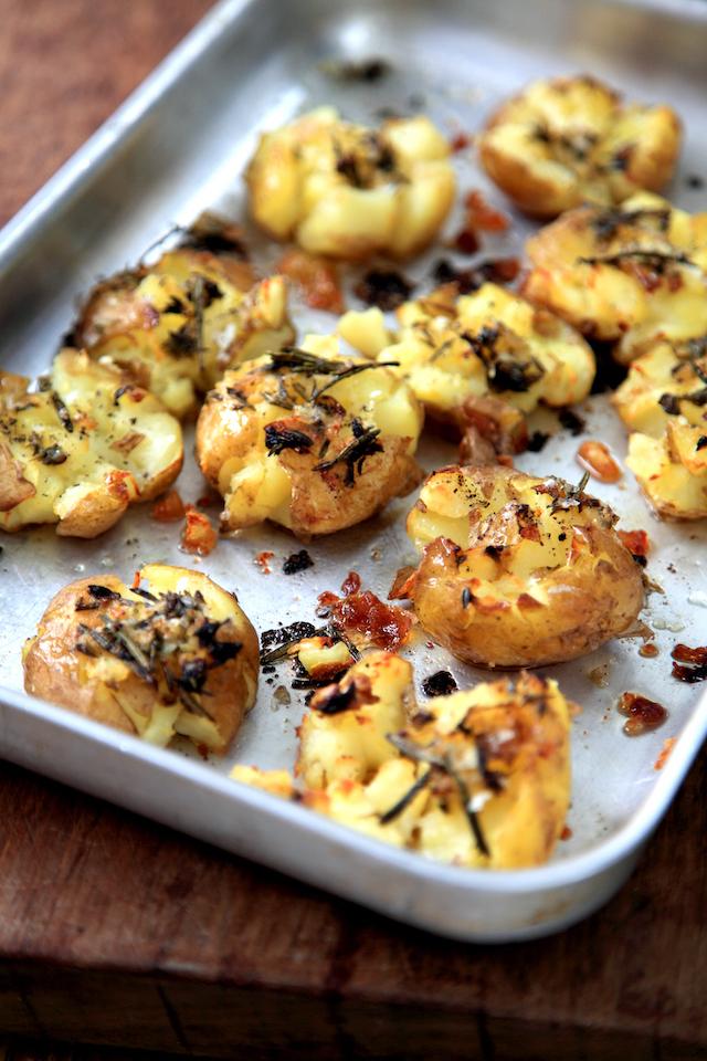 Sofie's Squashed Potatoes | DonalSkehan.com